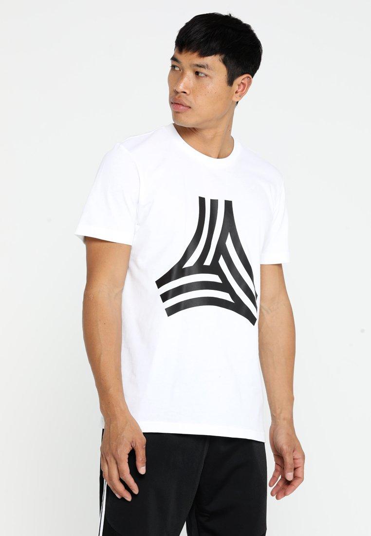 adidas Performance - TAN TEE - Print T-shirt - white