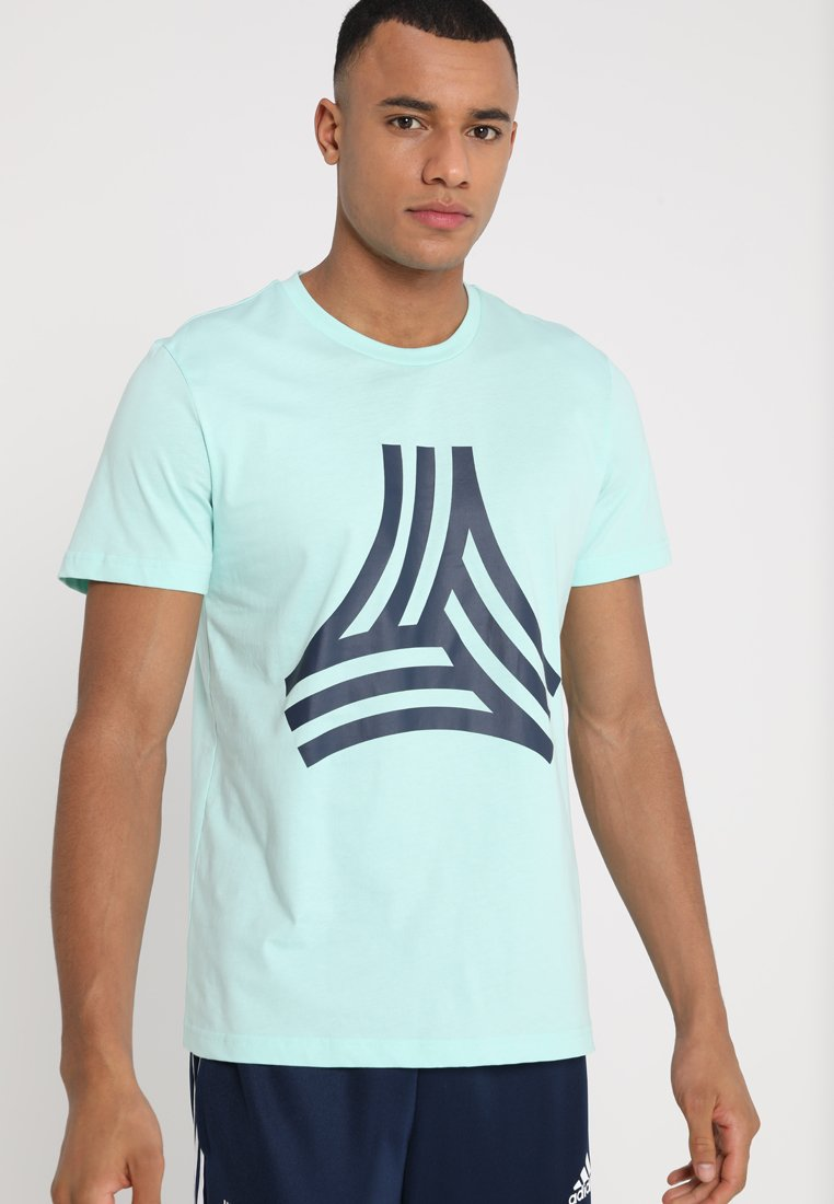 adidas Performance - TAN TEE - Print T-shirt - clear mint
