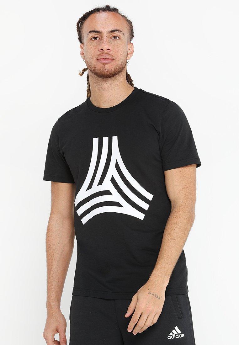 adidas Performance - TAN TEE - T-Shirt print - black