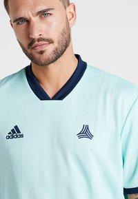 adidas Performance - TAN - Camiseta estampada - clear mint - 3