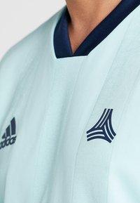 adidas Performance - TAN - Camiseta estampada - clear mint - 5