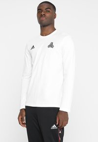 adidas Performance - TAN TEE - Long sleeved top - white - 0