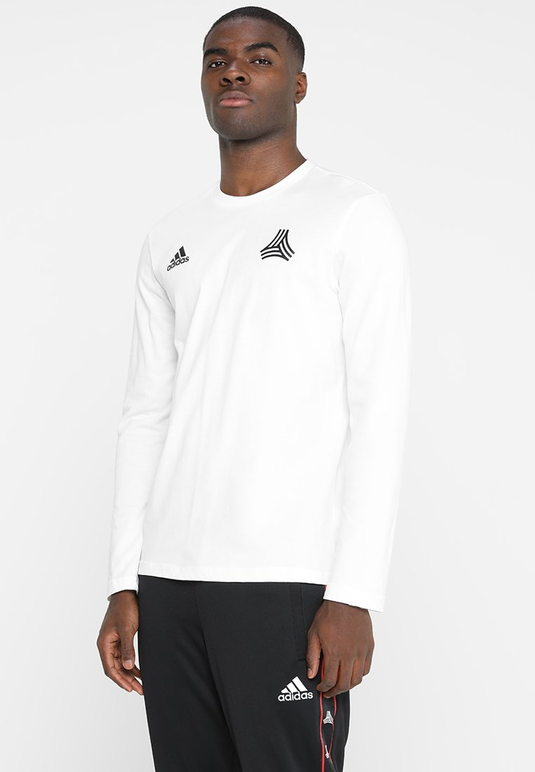 adidas Performance - TAN TEE - Long sleeved top - white
