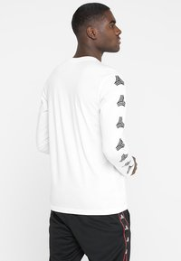 adidas Performance - TAN TEE - Long sleeved top - white - 2