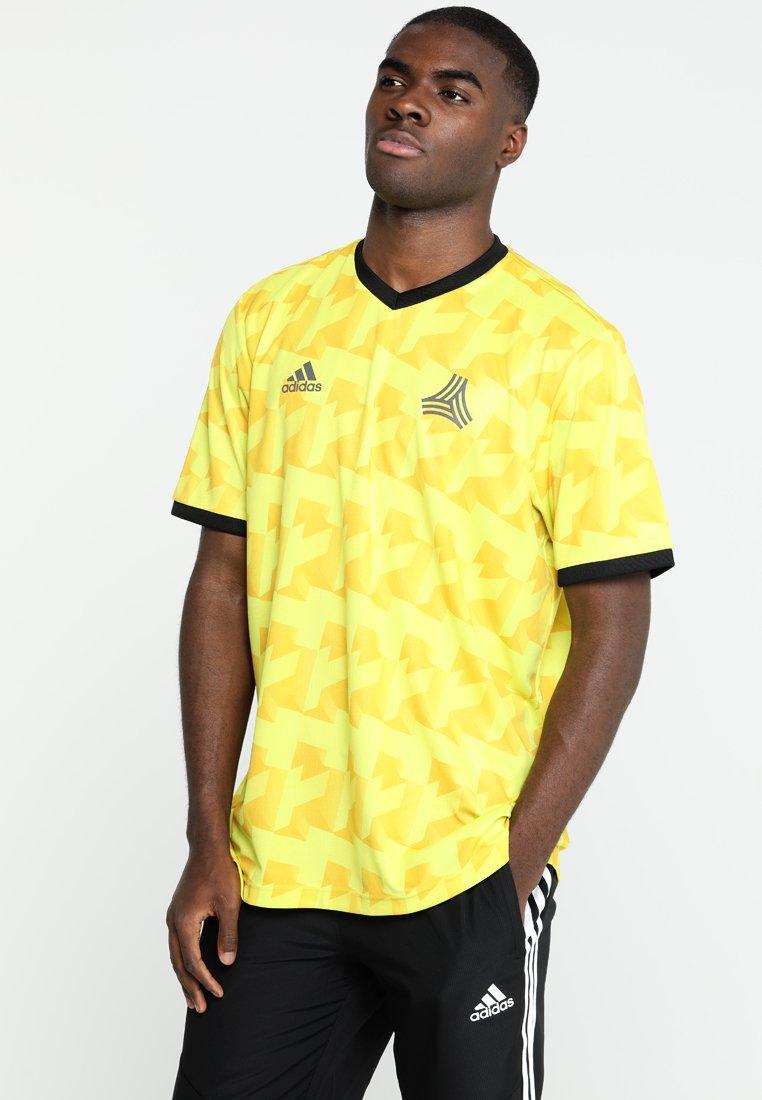adidas Performance - Print T-shirt - semi solar yellow