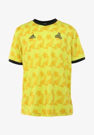 T-shirt z nadrukiem - semi solar yellow