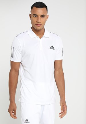 CLUB - Sports shirt - white/black
