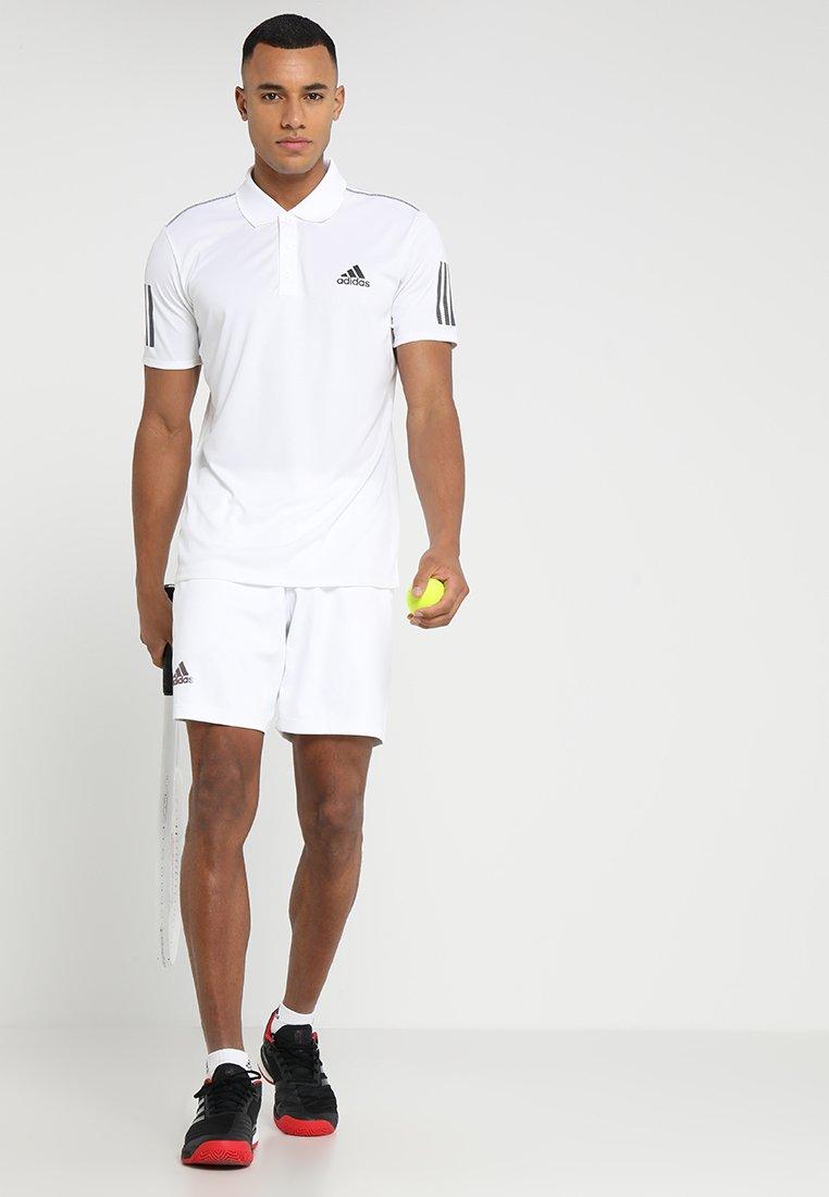 Adidas Performance Club - T-shirt Sportiva White/black bfNdeCn