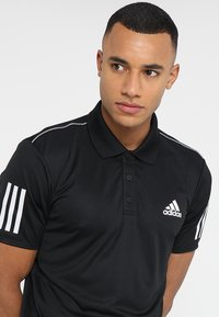 adidas Performance - CLUB - Sports shirt - black/white - 3
