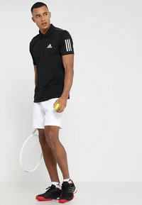 adidas Performance - CLUB - Sports shirt - black/white - 1