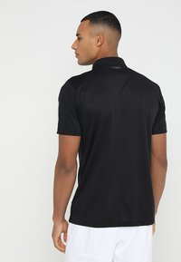 adidas Performance - CLUB - Sports shirt - black/white - 2