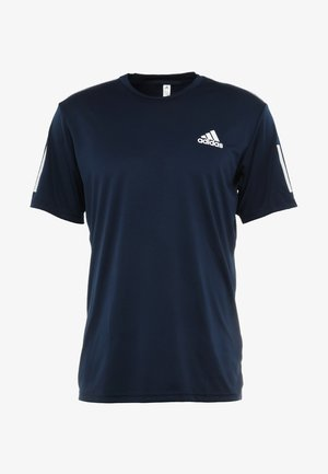 CLUB TEE - T-shirts print - collegiate navy/white