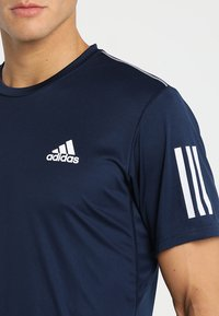 adidas Performance - CLUB TEE - Print T-shirt - collegiate navy/white - 5