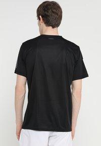 adidas Performance - CLUB TEE - T-shirts print - black/white - 2