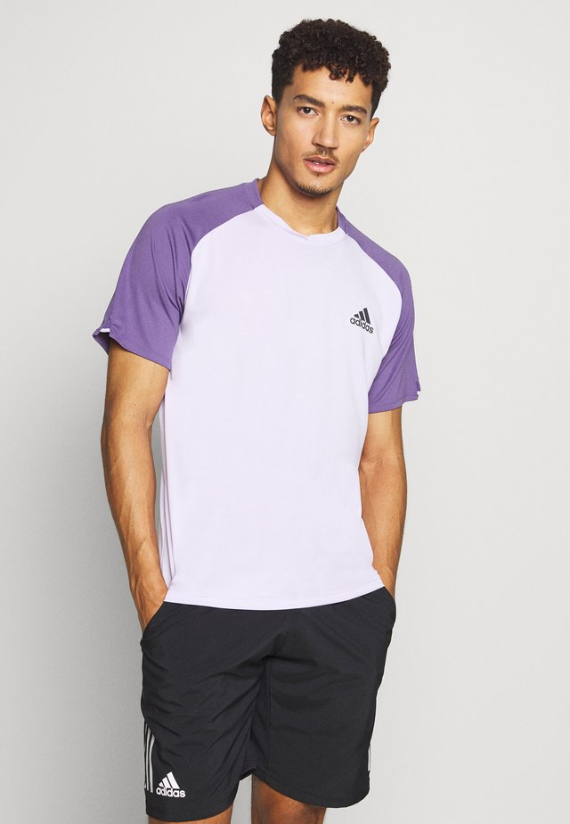 CLUB TEE - Camiseta estampada - purple tint/ tech purple