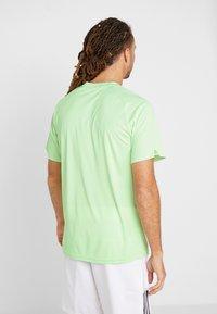 adidas Performance - CLUB TEE - Print T-shirt - green - 2
