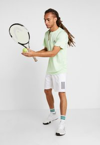 adidas Performance - CLUB TEE - Print T-shirt - green - 1