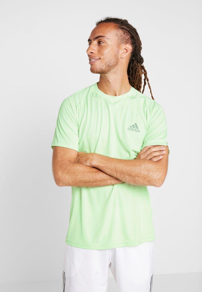 adidas Performance - CLUB TEE - Print T-shirt - green