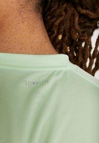 adidas Performance - CLUB TEE - Print T-shirt - green - 4