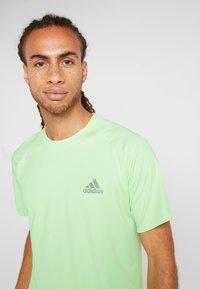 adidas Performance - CLUB TEE - Print T-shirt - green - 3