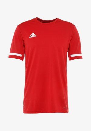 TEAM 19 - Camiseta estampada - power red/white