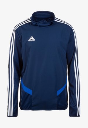TIRO19 WARM TOP - Långärmad tröja - dark blue/white