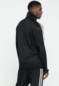 adidas Performance - TIRO19 WARM TOP - Long sleeved top - black/white - 2