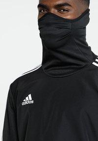 adidas Performance - TIRO19 WARM TOP - Long sleeved top - black/white - 3