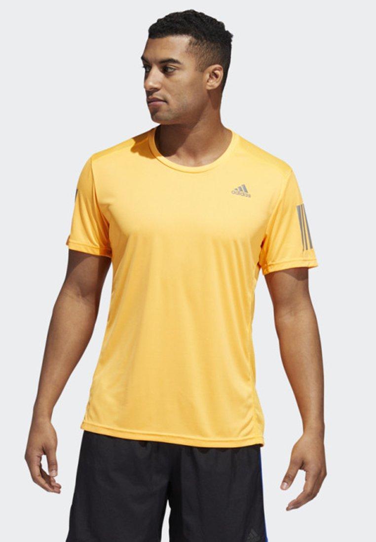 adidas Performance - OWN THE RUN TEE - Print T-shirt - flash orange