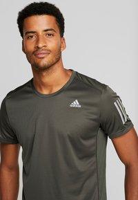 adidas Performance - OWN THE RUN TEE - Camiseta estampada - legear - 3