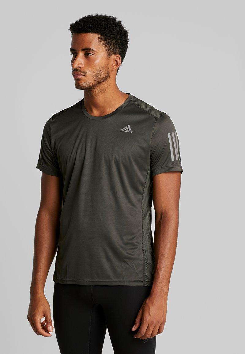 adidas Performance - OWN THE RUN TEE - Camiseta estampada - legear