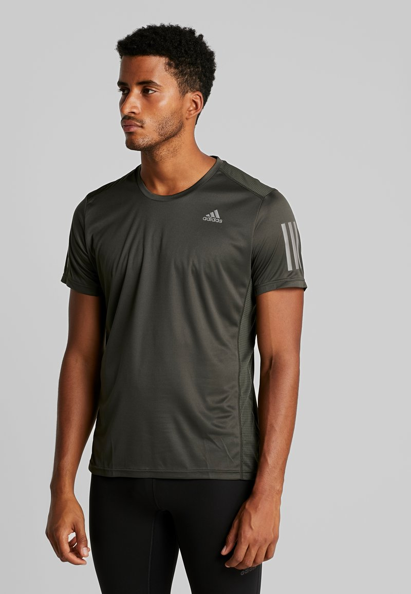 adidas Performance - OWN THE RUN TEE - Print T-shirt - legear