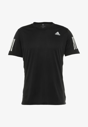 OWN THE RUN TEE - T-shirt print - black/white