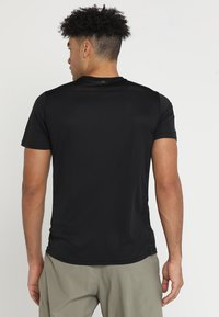adidas Performance - OWN THE RUN TEE - T-shirts print - black/white - 2
