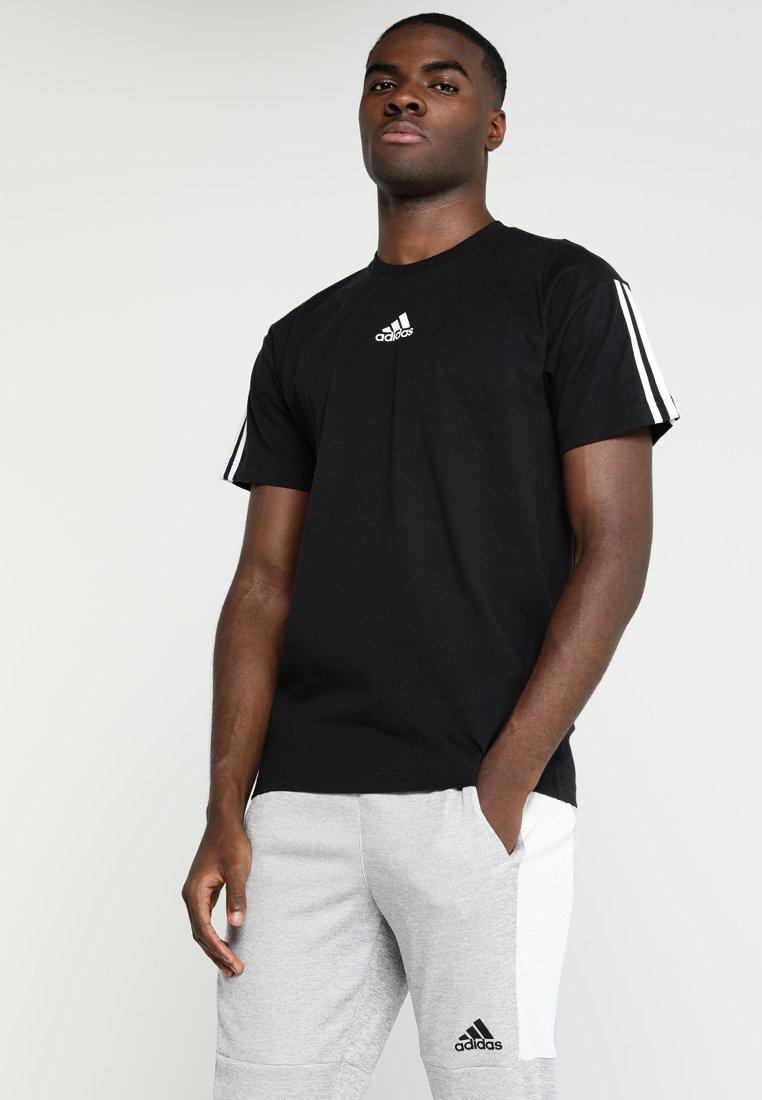adidas Performance - TEE - Print T-shirt - black