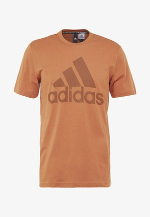 MUST HAVES SPORT REGULAR FIT T-SHIRT - T-shirt med print - brown