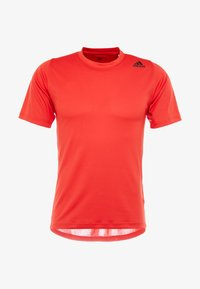 adidas Performance - Print T-shirt - active red - 4
