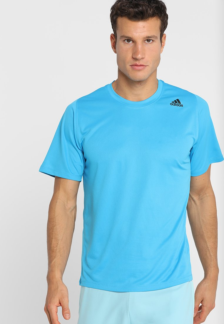 adidas Performance - FREELIFT SPORT ATHLETIC FIT T-SHIRT - T-shirt print - shock cyan