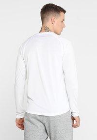 adidas Performance - FREELIFT SPORT ATHLETIC FIT LONG SLEEVE SHIRT - Funkční triko - white - 2