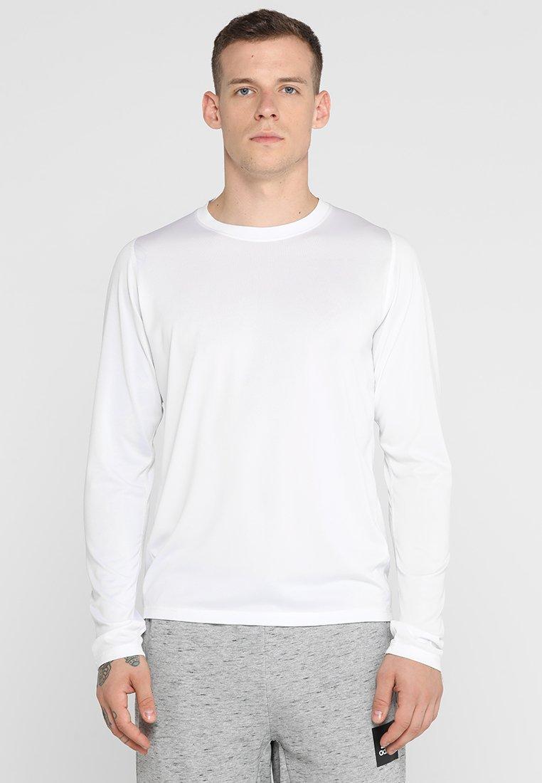 adidas Performance - FREELIFT SPORT ATHLETIC FIT LONG SLEEVE SHIRT - Funkční triko - white