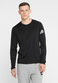 adidas Performance - FREELIFT SPORT ATHLETIC FIT LONG SLEEVE SHIRT - Funkční triko - black - 0