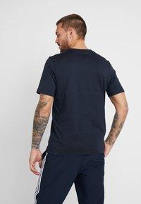 adidas Performance - LIN - Camiseta estampada - ink/white - 2