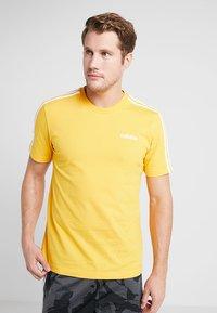 adidas Performance - T-shirt print - yellow - 0