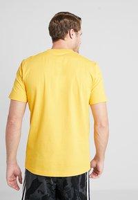 adidas Performance - T-shirt print - yellow - 2