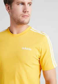 adidas Performance - T-shirt print - yellow - 3