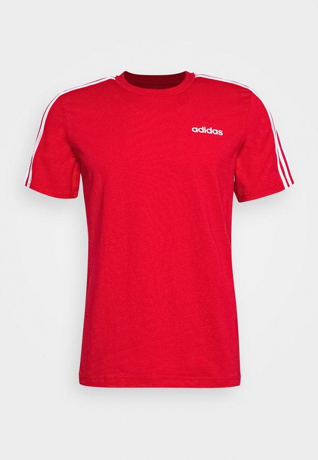 TEE - Camiseta estampada - scarlet/white