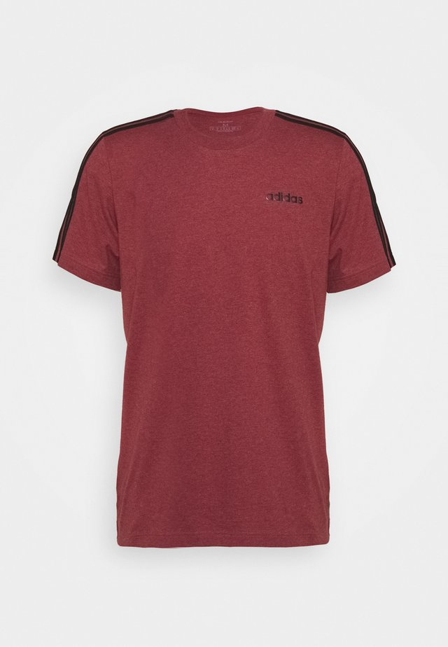 3S TEE - Camiseta estampada - legred/black