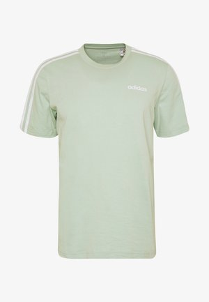 TEE - Camiseta estampada - green/white
