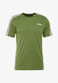 adidas Performance - T-shirt print - tech olive - 4