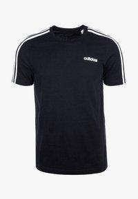 adidas Performance - Camiseta estampada - black / white - 0